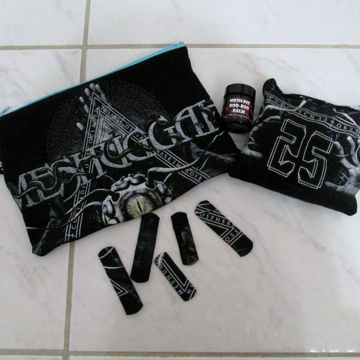 Meshuggah Mosh Pit Boo-Boo Kit DIY Heavy Metal by DarkStormDesign on Etsy