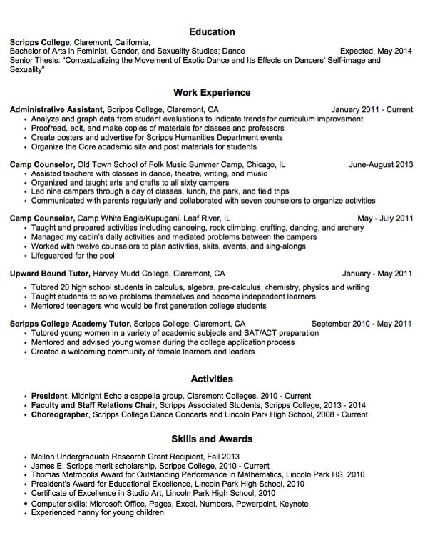 44 best Business Letters Communication images – Camp Counselor Resume