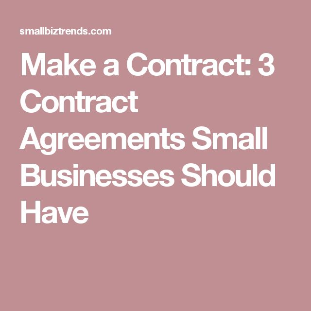 Best 25+ Contract agreement ideas on Pinterest Roomate agreement - sample business agreements
