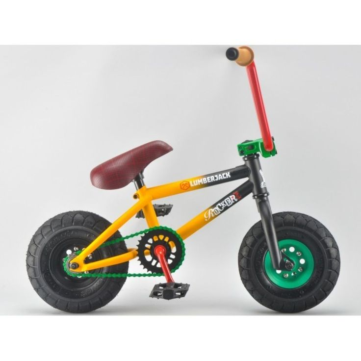 Rocker IROK Mini BMX - Lumberjack | Mini BMX Bikes, Mini BMXs, Cheap mini BMXs | Skatehut