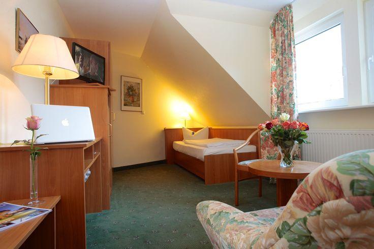 Das AKZENT Hotel Zur Grünen Eich in Behringen-Bispingen verfügt über 40 exklusiv eingerichtete Doppel- und 5 Einzelzimmer