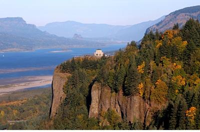 Columbia Gorge route