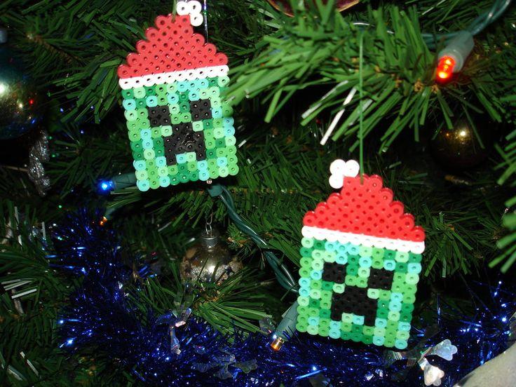minecraft+christmas+ornament | deviantART: More Like -Perler- One Direction Logo by ~OtakuLuka