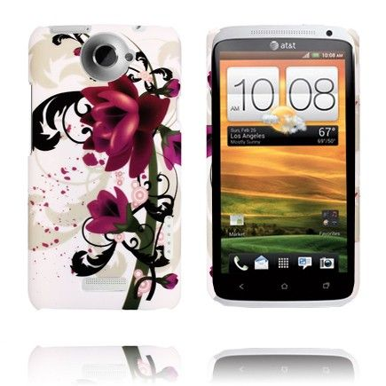 Valentine (Two Purple Roses) HTC One X Cover