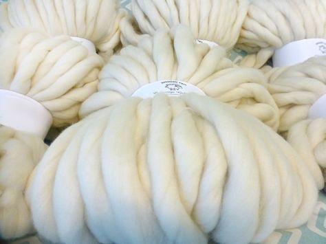 Super Chunky Yarn Chunky Merino Chunky Blanket by LizaDeeOriginals
