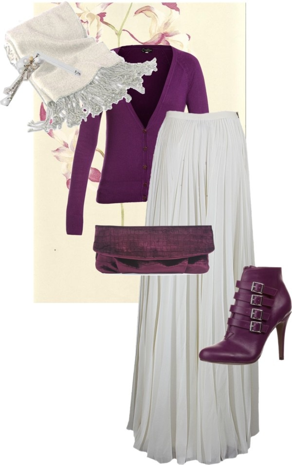 """""""purple set"""" by nebita on Polyvore. I Love, love, love this outfit."""