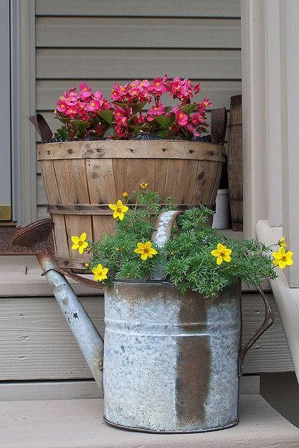 17 meilleures images propos de deco jardin sur pinterest jardins planters et tour de fleurs - Deco jardin chaussee de waterloo tours ...