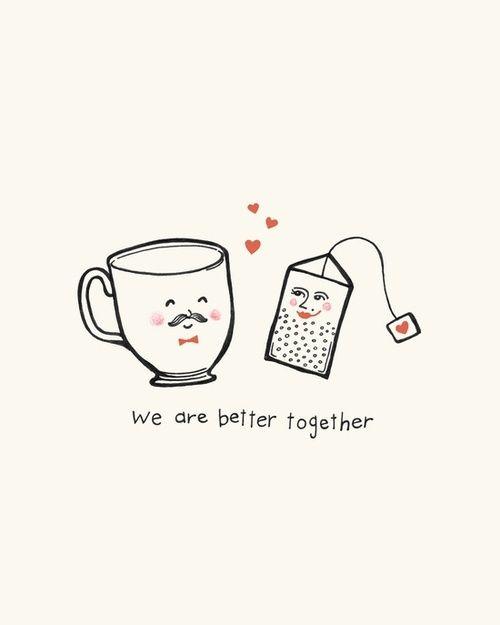 https://www.facebook.com/pages/The-Little-Tea-Room/152299044931075?fref=ts #funny #tea #tè #teabag #art #cup #tazza #love #cute