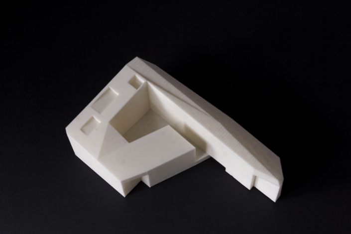 3d printed in fdm technology a building