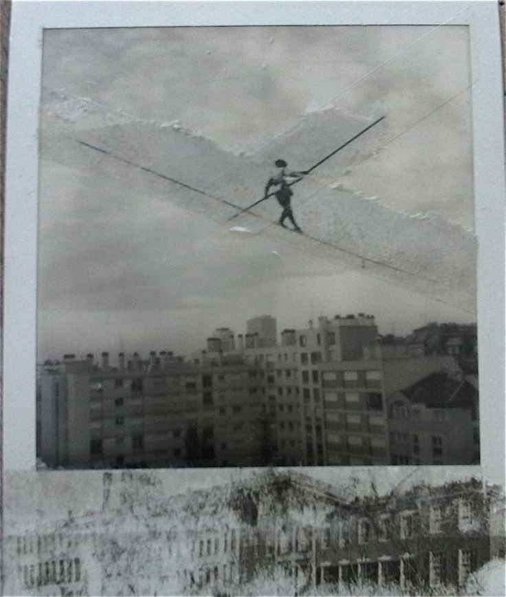 Photo Polaroid et collage by Hania Destelle
