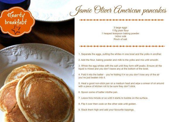 jamie oliver american pancakes recipe card