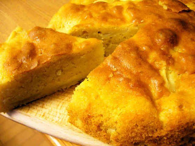 しっとりりんごケーキの画像