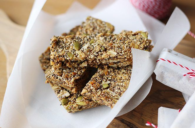 Cereal bars for hiking trails!