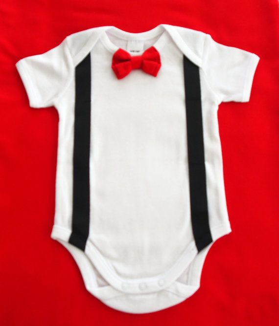 For special occasions or just because it's cute you will love this bow tie onesie! Bow Tie Onesie by keb4kids on Etsy