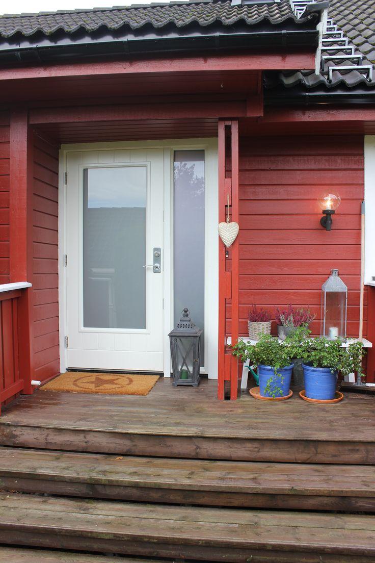 Function Caspian Denne ytterdøren kan fås med og uten sprosse. Fin både som ytterdør og balkongdør