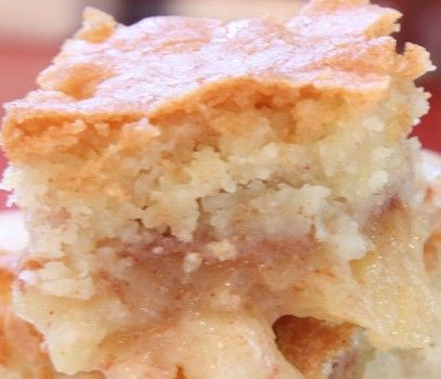 Apple cobbler recipe: •Peeled, cored, and sliced apples (enough to half-fill a 9x9 baking dish) •2 tsp. vanilla (divided) •1 ½ cup sugar (divided) •½ tsp. cinnamon •2/3 cup butter, melted and cooled •1 egg •1 cup flour •¼ tsp. baking powder •Pinch of salt