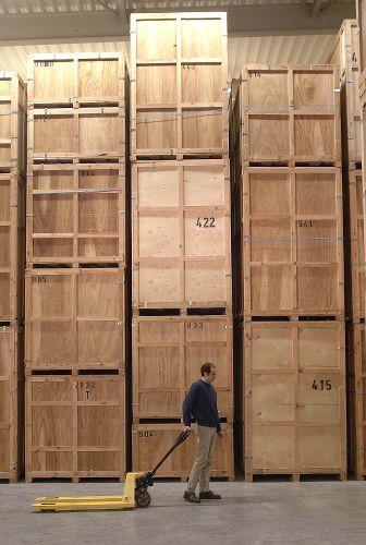 Gardes-meubles en contreplaqué et bois | No-nail Boxes