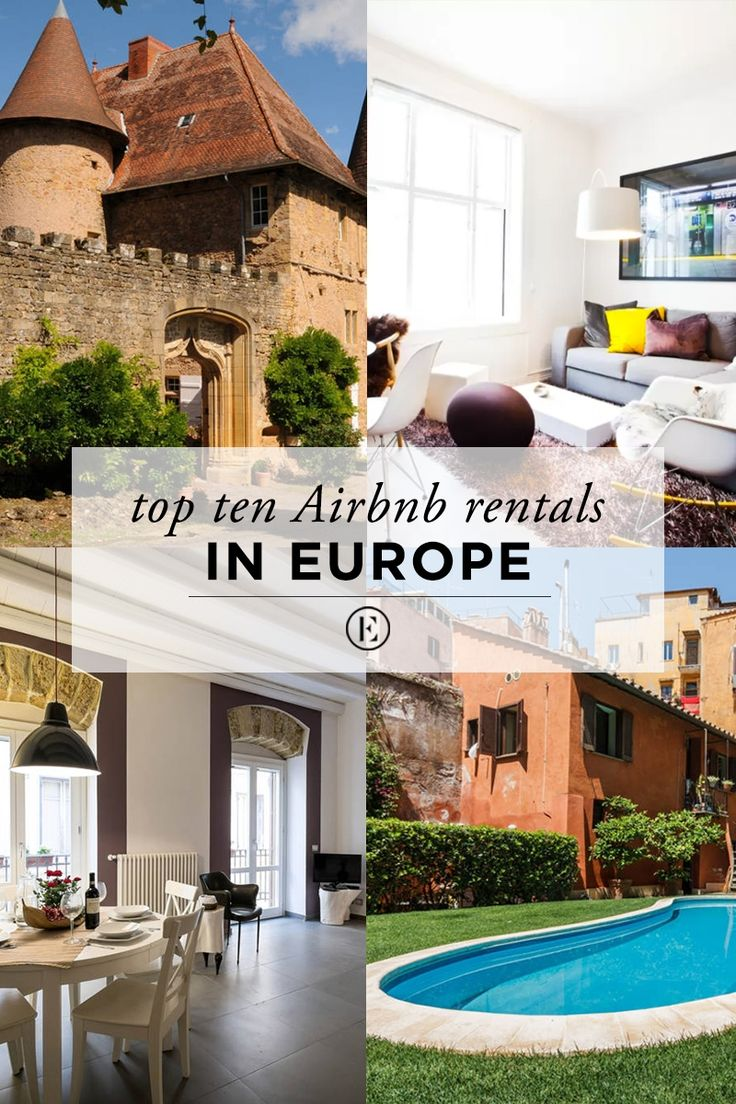 Top 10 Airbnb Rentals in Europe for Under $200  #theeverygirl