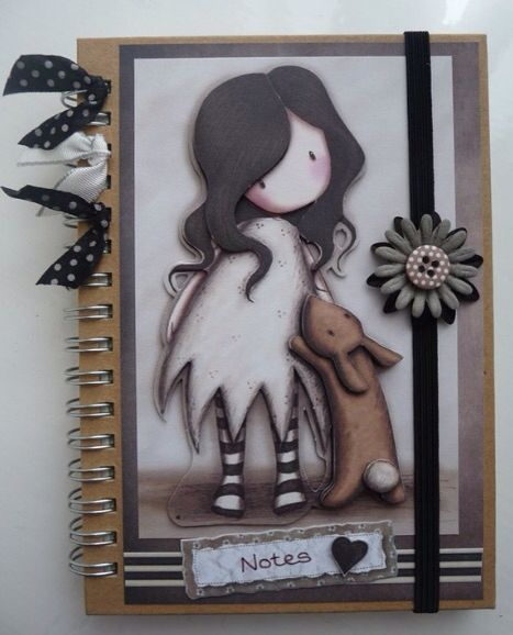 Gorjuss Girls Notebook