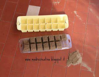 MadreCreativa: Giocare con la sabbia: piccoli mattoni