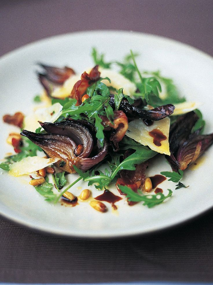 ... Scrummy Warm, Rocket Salad, Red Onions, Onions Salad, Salad Recipe
