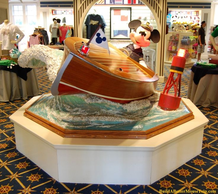 Pin by Build A Better Mouse Trip on Mickey Mouse | Yacht ...