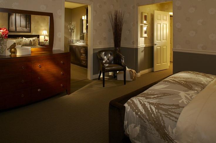 Master Bedroom   WestView Builders   Montrose Calgary   Showhome