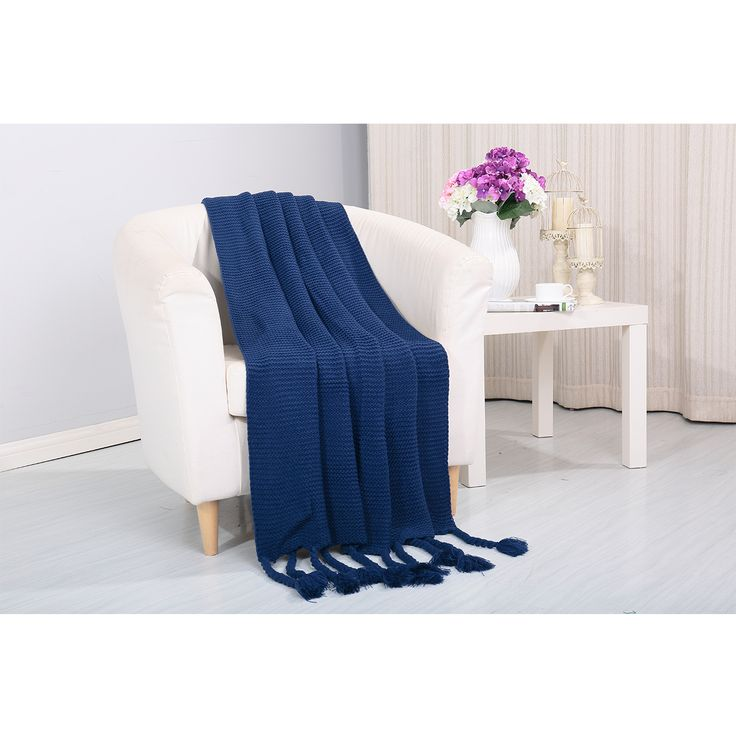 home essentials furniture. Camilla Knitted Throw Couch Cover Sofa Blanket, 50x60 Home Essentials Furniture R