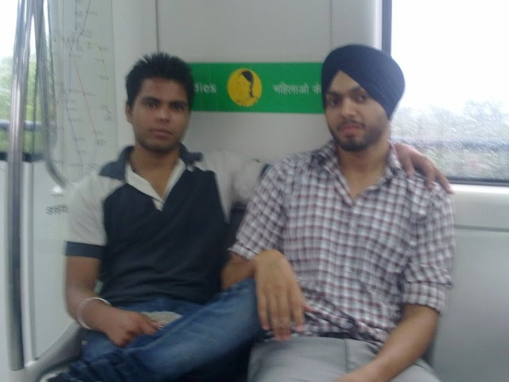 In Metro With Paali
