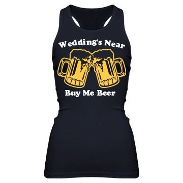 I'm not one to wear something that calls me out as a Bachelorette or bride-to-be, but this one is pretty good!