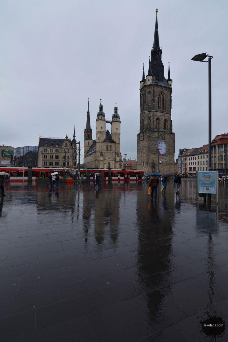 Halle an der Saale, Germany http://sekulada.com/10-miast-w-niemczech-ktore-pokochacie/