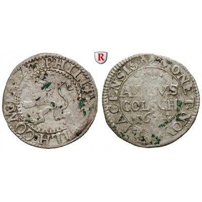 Jülich-Kleve-Berg, Herzogtum Jülich-Berg, Philipp Wilhelm, 2 Albus 1674, ss: Philipp Wilhelm 1653-1679. 2 Albus 1674 Mülheim. Noss… #coins