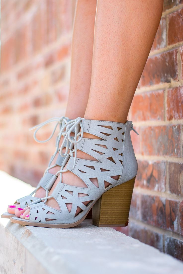 Lace up bootie-more colors - Lush Fashion Lounge #shoes