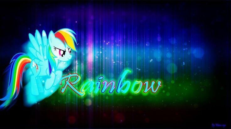 Rainbow Dash Wallpaper by Manu-nya.deviantart.com on @DeviantArt