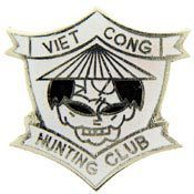 Viet Cong Hunting Club Vietnam pin - Meach's Military Memorabilia & More