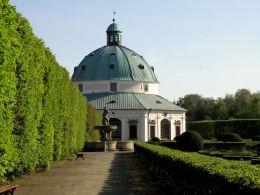 Rotunda.Květná zahrada.Kroměříž