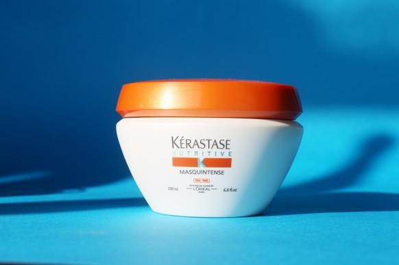 Kérastase masks were practically made for extreme weather. Elizabeth recommends the Nutridefense Masque for keeping hair soft and strong in winter: http://intothegloss.com/2013/12/best-hair-mask/
