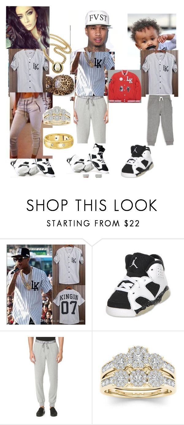 """TYGA'S WIFE"" by skrillexgurl ❤ liked on Polyvore featuring Love Boo, Retrò, Calvin Klein Jeans, Modern Bride and Allurez"