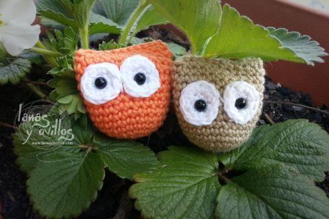 Mini Amigurumi Crochet Patterns Free : Free Mini Owl Amigurumi Crochet Pattern Crochet Pinterest