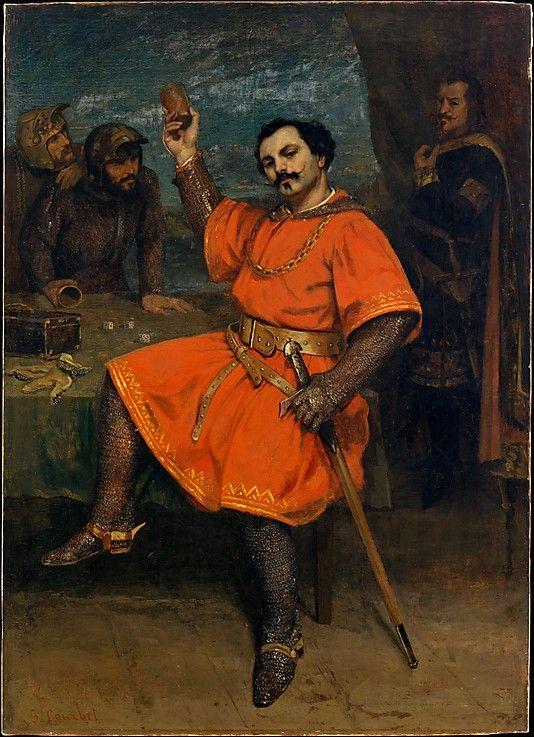 Louis Gueymard (1822–1880) as Robert le Diable  Gustave Courbet (French, Ornans 1819–1877 La Tour-de-Peilz)