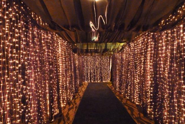 Wedding Curtain Lights ~ Wedding Ideas and Collections