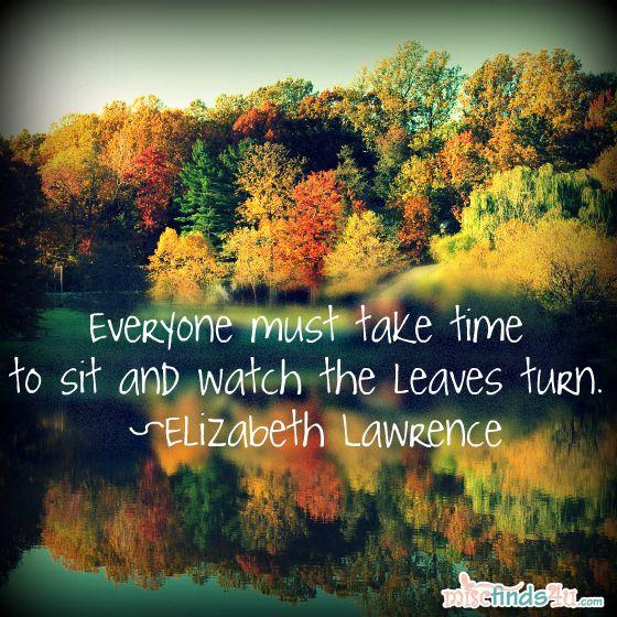 25+ Best Fall Season Quotes On Pinterest