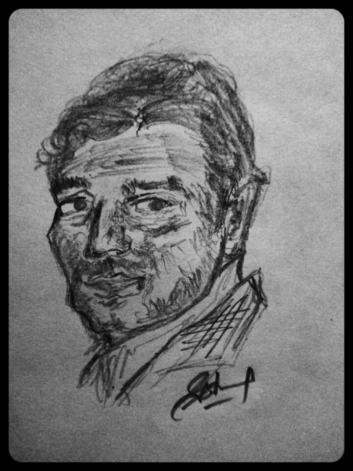 An Artist Tribute To Superstar RAJESH KHANNA By GIRISH SHARMA