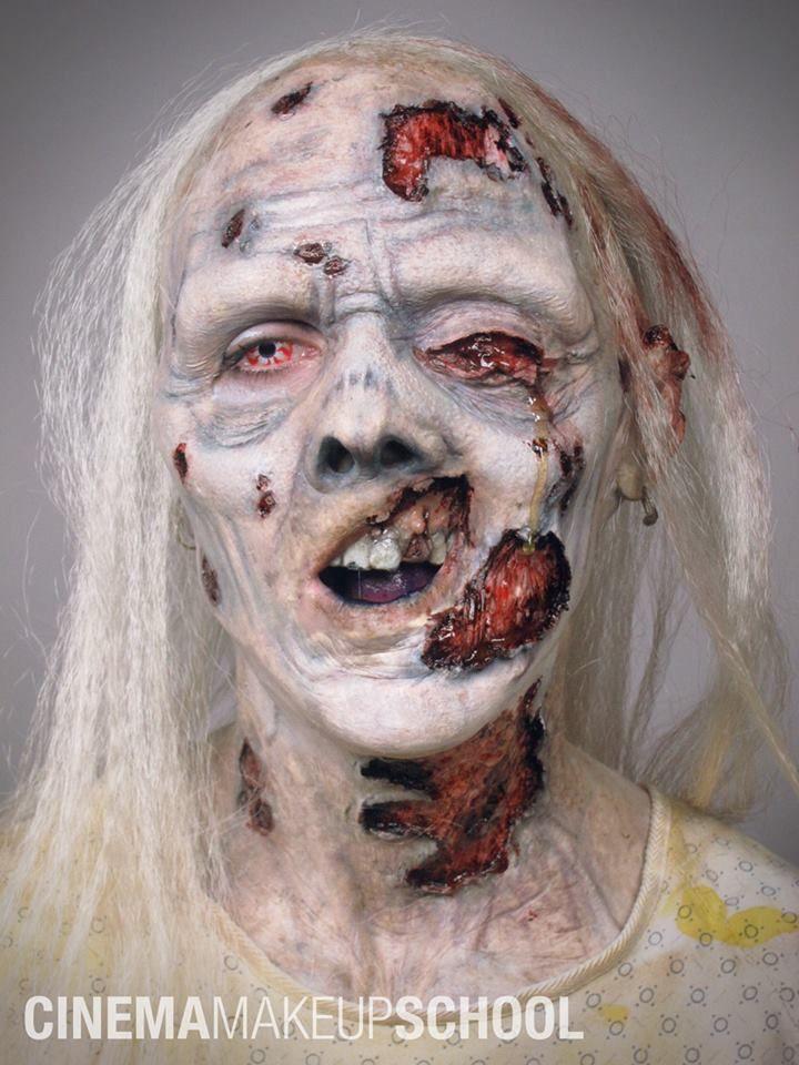 Pin by Jasmine Ringo on Zombies Pinterest - halloween horror makeup ideas