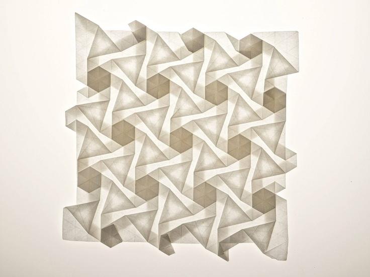 Origami Tessellations Wall Art