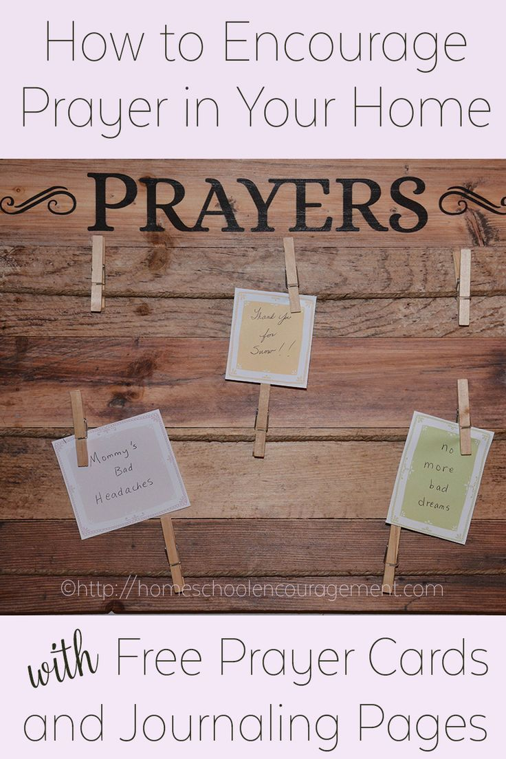 Encourage Prayer in your home, Encouraging Children to Pray, Praying together
