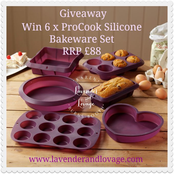 Lavender and Lovage | Giveaway: ProCook Silicone Bakeware Set – RRP: £88 | http://www.lavenderandlovage.com