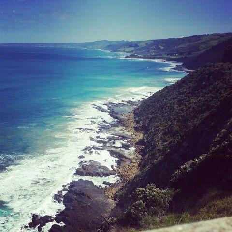 #GreatOceanRoad coastline.
