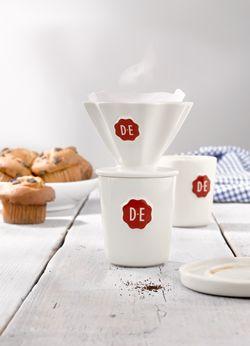 Douwe Egberts Puur servies #coffee