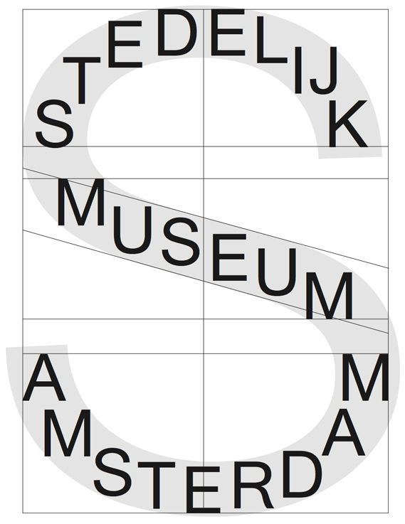 Stedelijk Museum visual identity (2012) - Fonts In Use